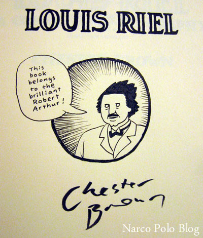 Chester Brown, Louis Riel