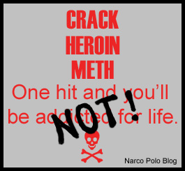 Crack Heroin Meth For Life - Not