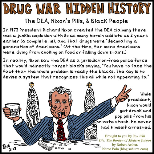 The DEA, Nixon's Pills, and Black People