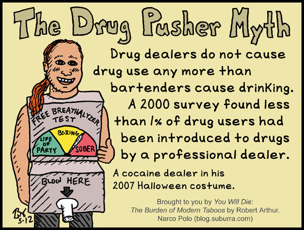 Drug Pusher Myth