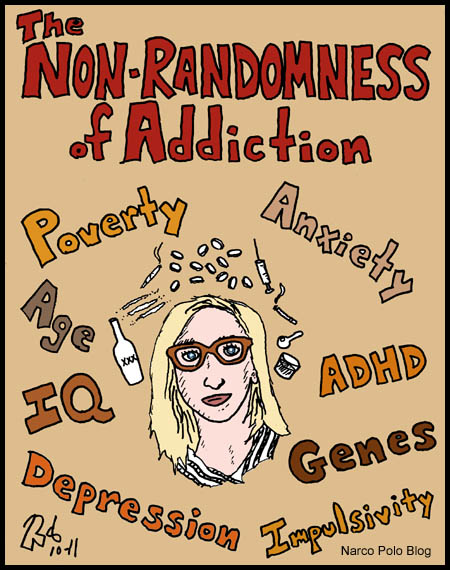 The Non-Randomness of Addiction