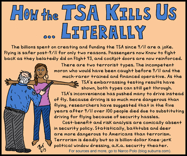 How the TSA Kills Us ... Literally