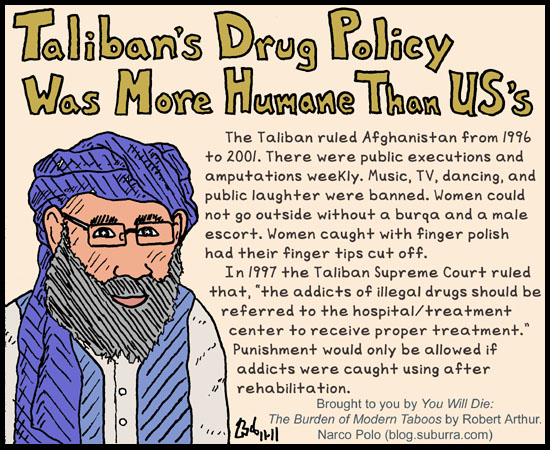 Taliban Drug Policy